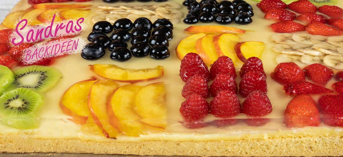 Obstkuchen – Bunte Mischung