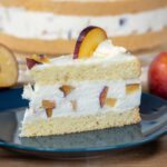 Pflaumen-Quark-Kuchen mit Biskuit