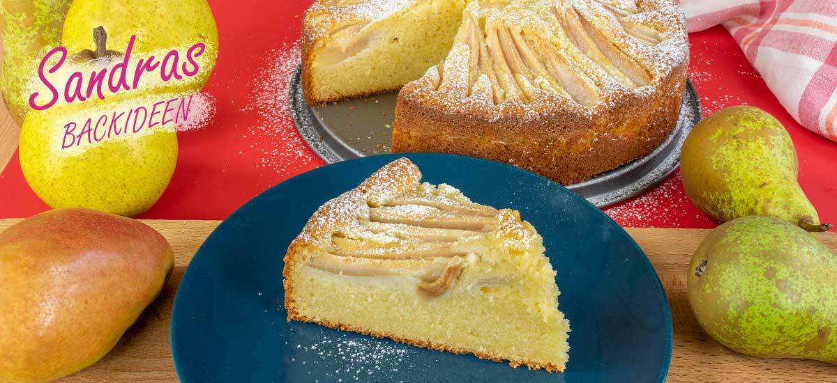 einfacher und schneller  Birnenkuchen