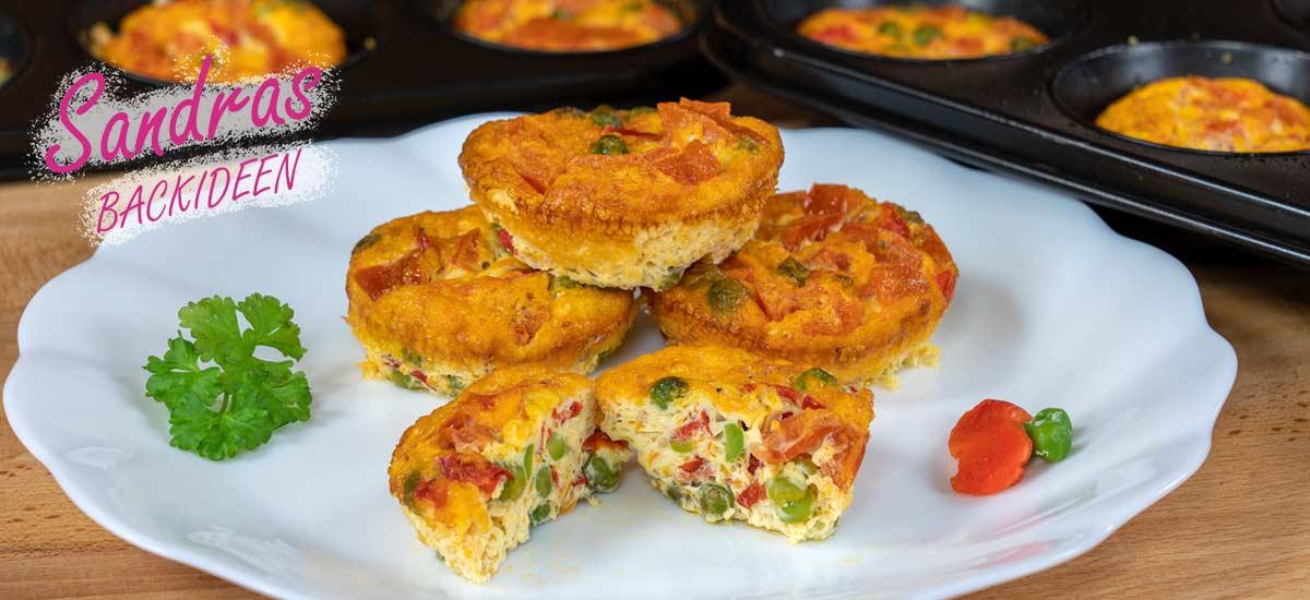 Gemüse Muffins – Eier Muffins
