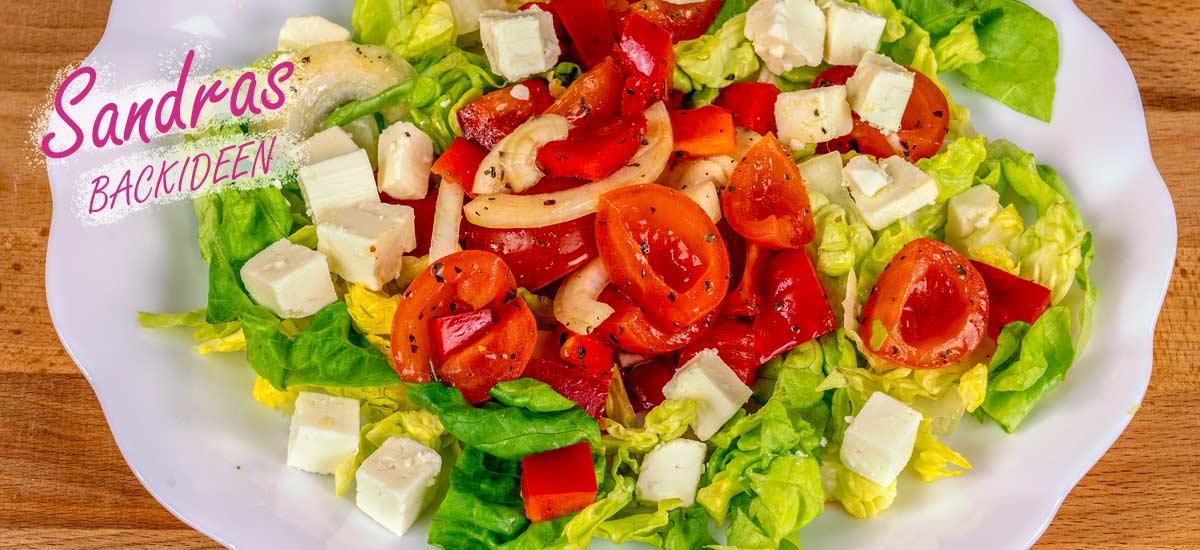 Tomaten Paprika Salat