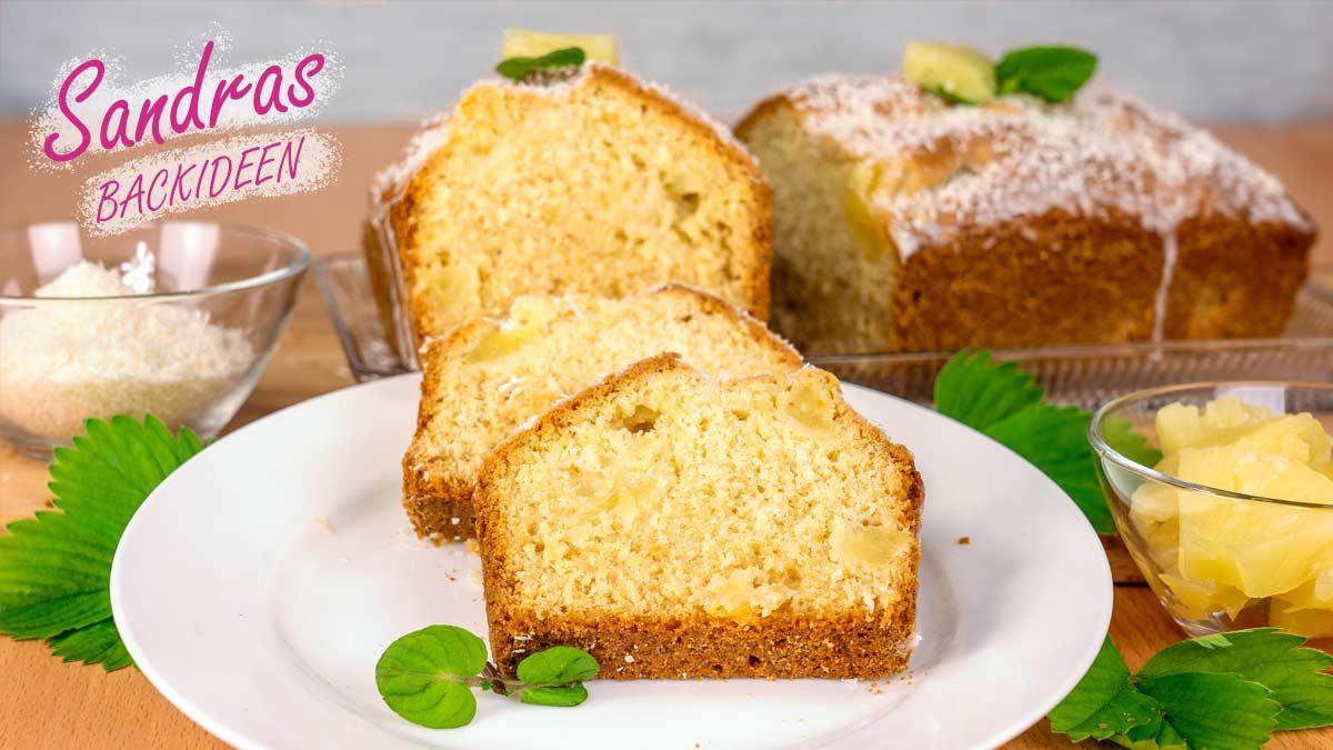 Ananas-Kokos-Kuchen